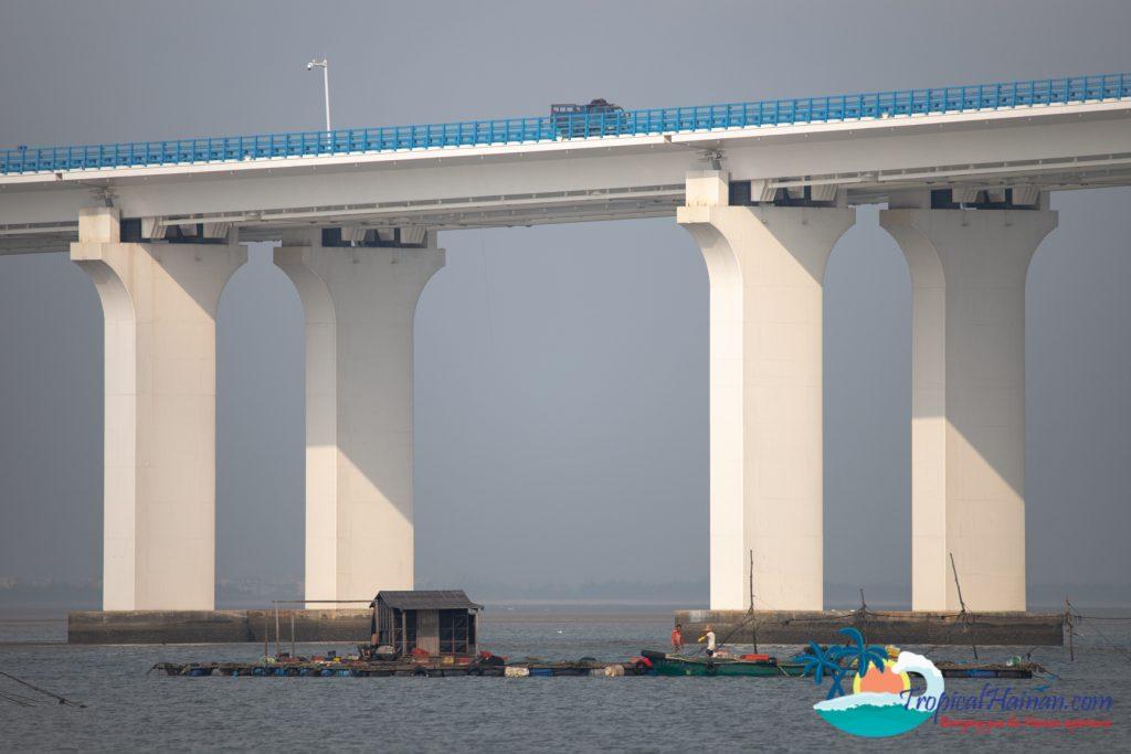Puqian Bridge Haikou Hainan Island