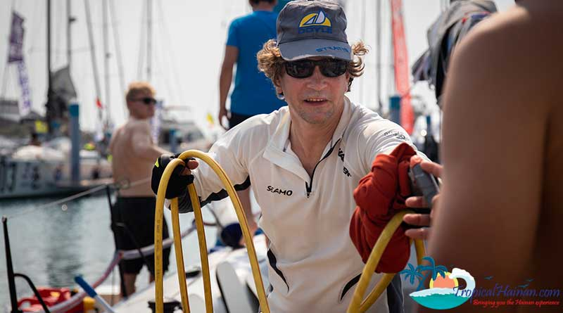A tough break for the Seamo at the 2019 Round Hainan Regatta