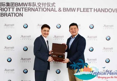Marriott International join hands with BMW China to elevate green travel experience in Hainan