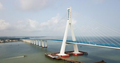 Hai Wen Bridge opens, spans fault lines and cuts travel time from Haikou to Wenchang