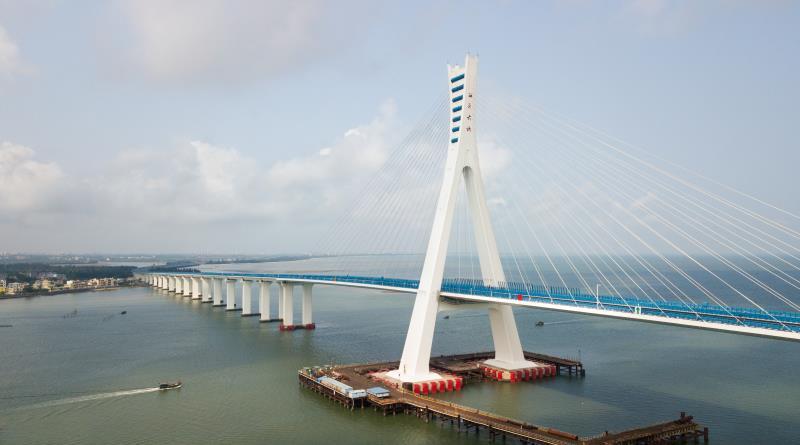 Puqian Bridge Haikou Hainan Island China