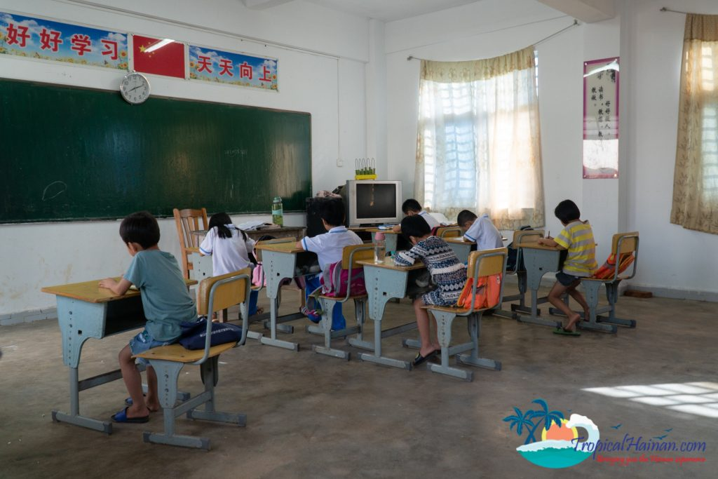 Bei gang Island Elementary school Hainan Island China (4)