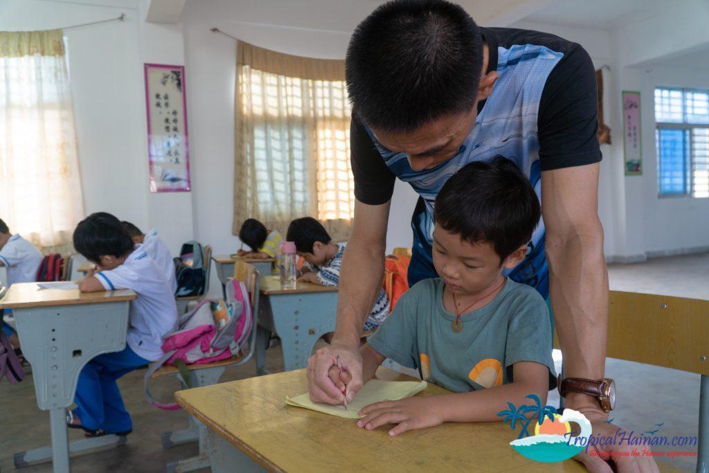 Bei gang Island Elementary school Hainan Island China (5)