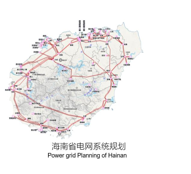 Hainan Island Free Trade Zone resources fact sheet Power grid