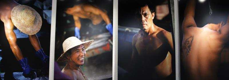 Wang Yao, World Press photo winner exhibits in Haikou (1)