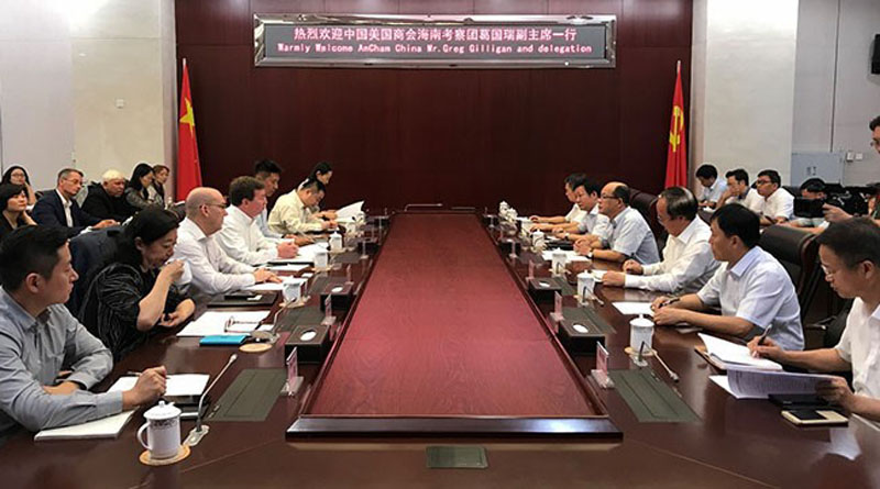 AmCham China's Hainan B.I.O. Trip, delegation members impressed with strong level of government access