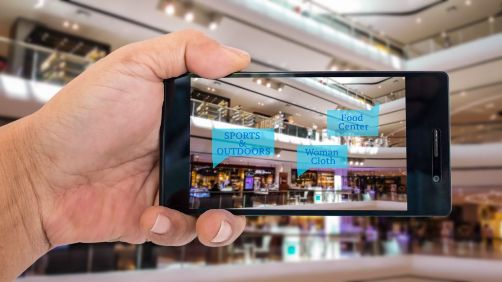 Augmented reality in airports