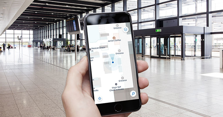 Augmented Reality Navigation at Gatwick Airport