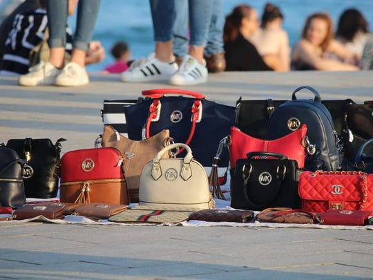 Fake bags in Hainan Island
