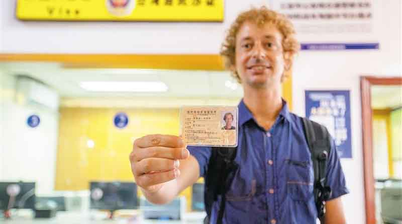 Sanya issues Hainan's first temporary driver permit for tourists