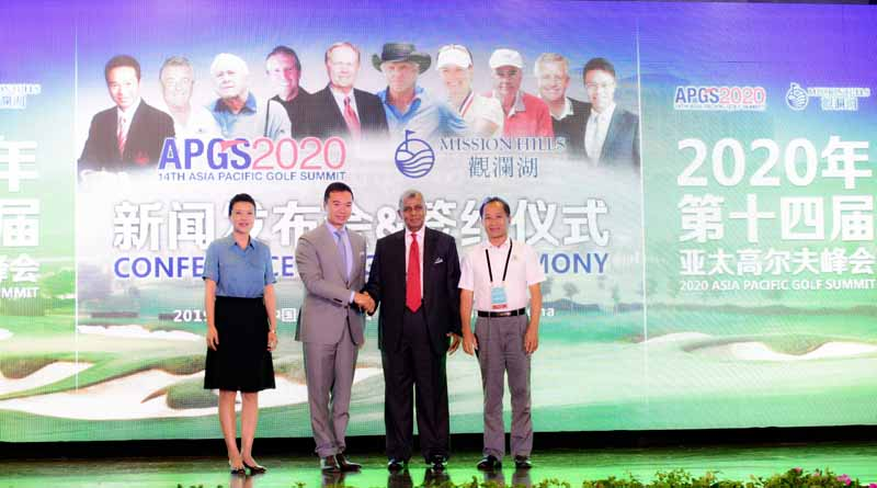 Asia Pacific Golf Group (APGG) and International Association of Golf Tour Operators (IAGTO) signed a contract with Mission Hills Group