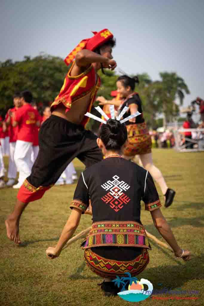 Bamboo dance 5