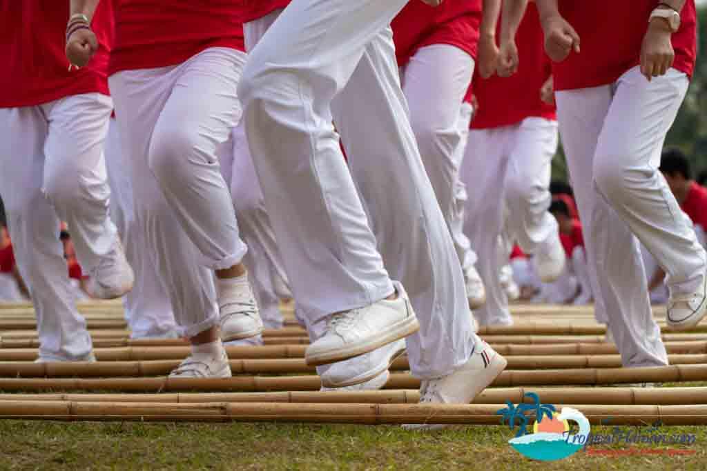 Bamboo dance 6