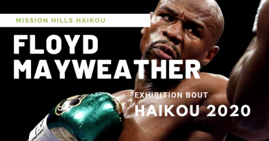 Floyd Mayweather lined up for exhibition bout Haikou, Hainan Island 2020