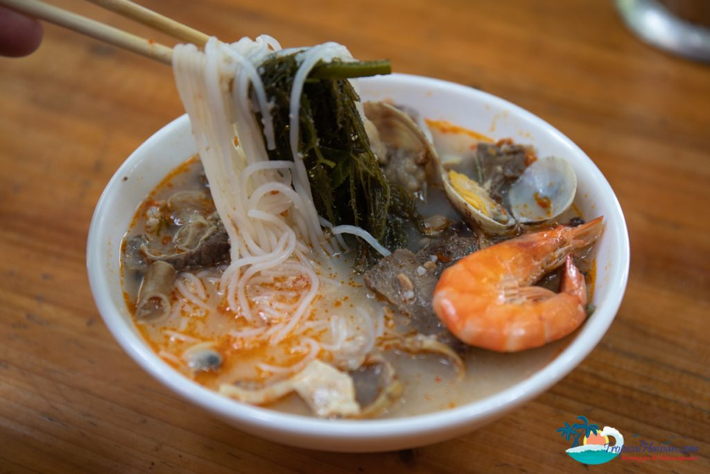Hainan style noodles