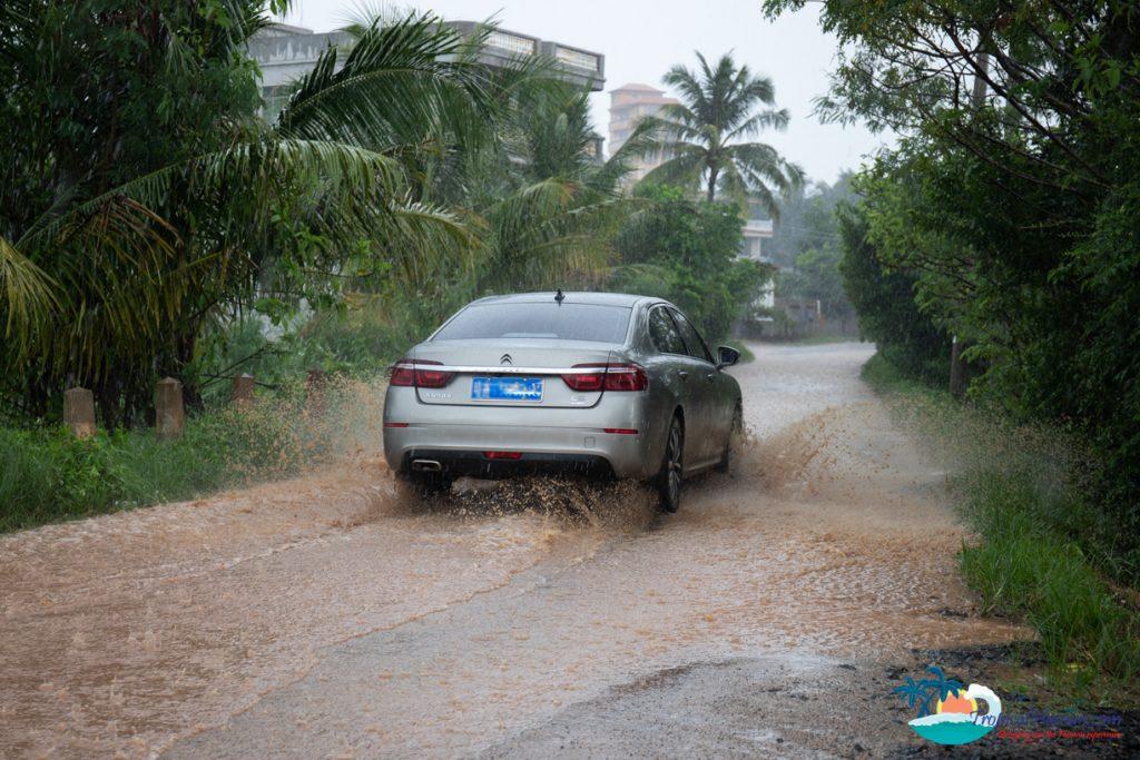 hainan driving wenchang hainan island