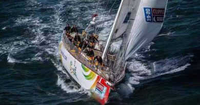 "The ""Sanya"" sets sail from London for gruelling round the world voyage"