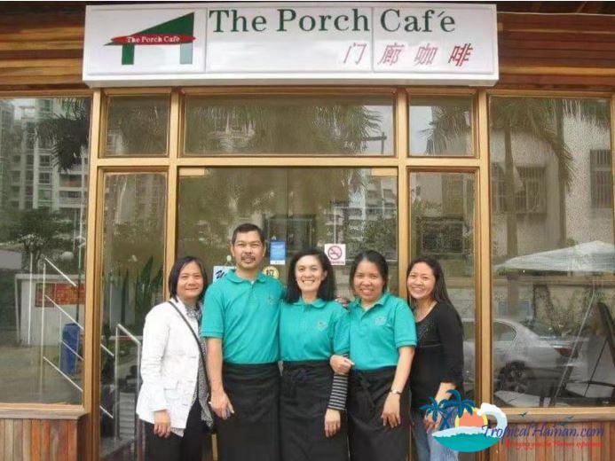 The Porch cafe Haidian island Haikou