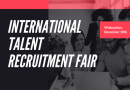 International talent recruitment fair, Wed 18th December