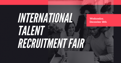 International talent recruitment fair