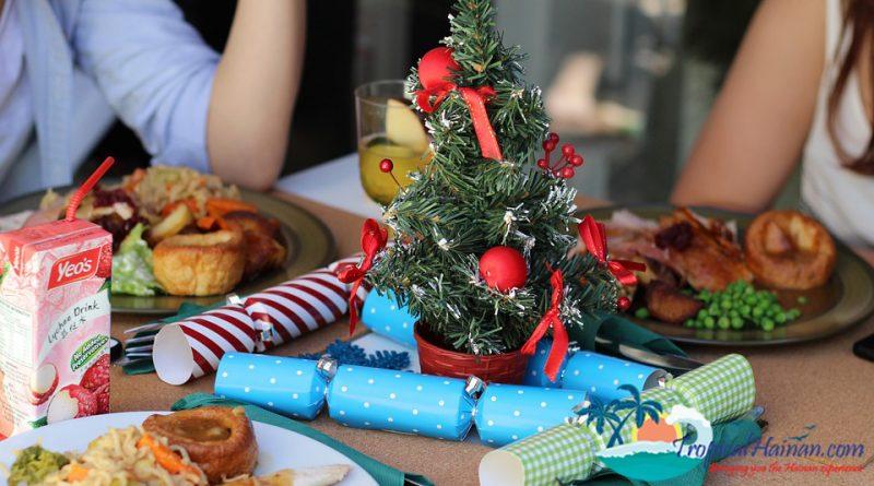 Christmas dinner Hainan