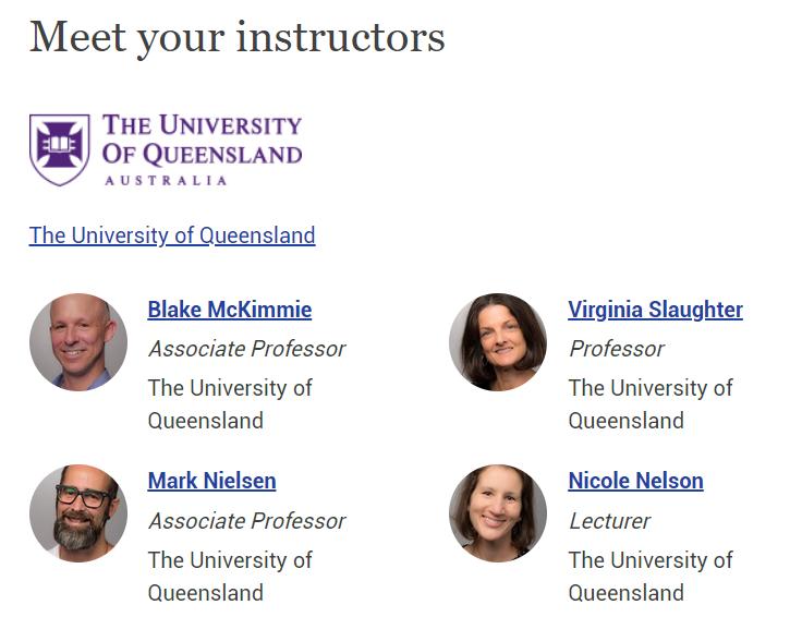 Edx instructors
