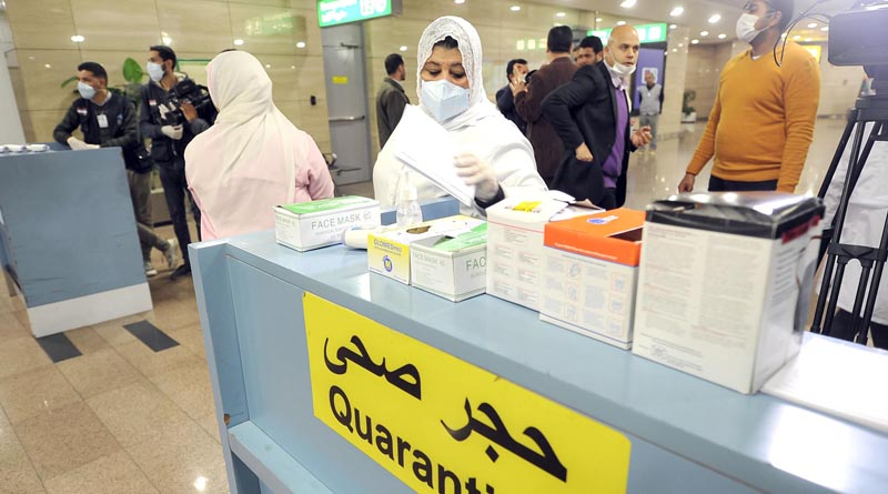 A single patient in Egypt marks the first confirmed coronavirus case in Africa