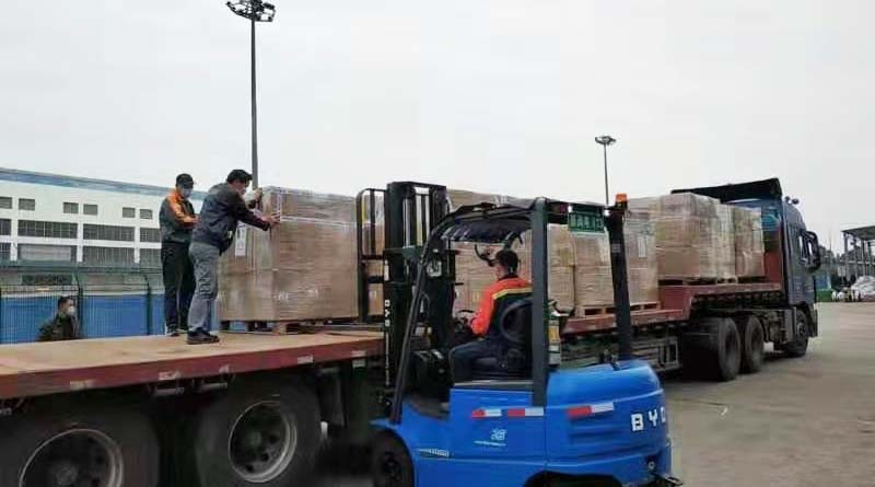 First medical relief supplies arrive in Hainan