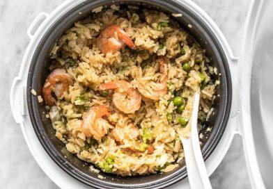 Seriously good recipes: (3) rice cooker Teriyaki Shrimp and Rice