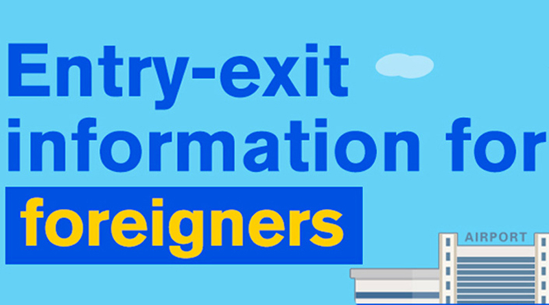 Entry and exit information for foreigners to China
