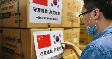 Haikou donates 100,000 masks to Cambodia and Donghae South Korea