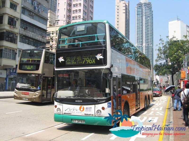 15-double-decker-buses-launch-in-Haikou