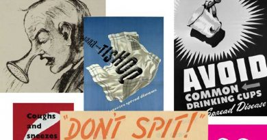 Don't Spit! Pandemic Posters over the last 100 Years