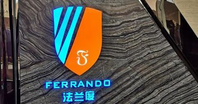Ferrando Guomao steak restaurant in Haikou