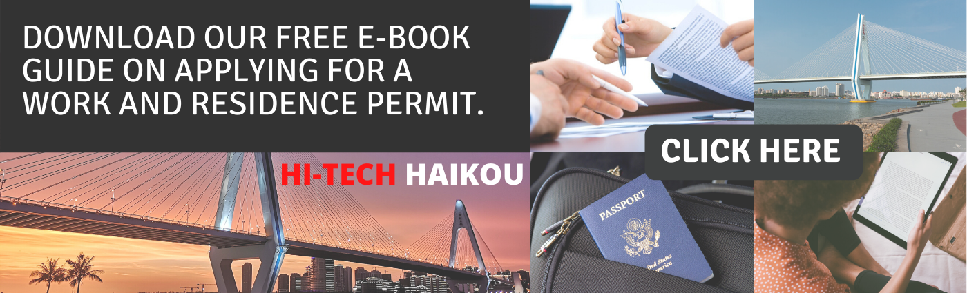Banner for work permit e book