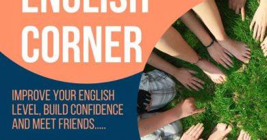 Weekly English Corner in Haikou