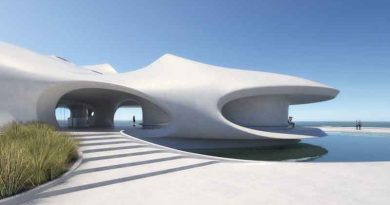 MAD architects unveils plans for 'wormhole library' in Haikou