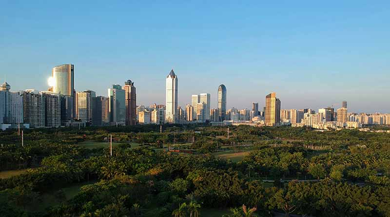 Haikou city in top ten cities in China