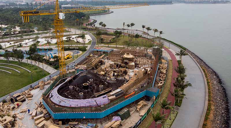 Construction of the Wormhole library Haikou