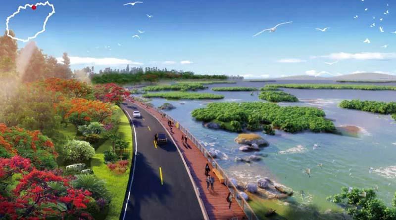Hainan island national loop road
