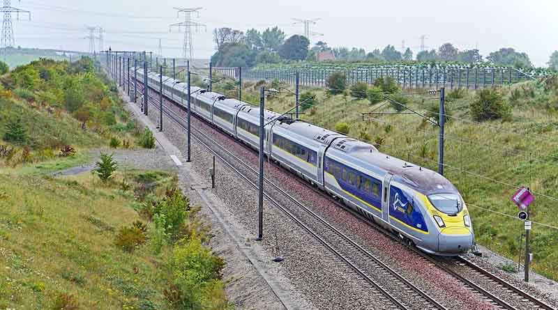 Eurostar channel tunnel