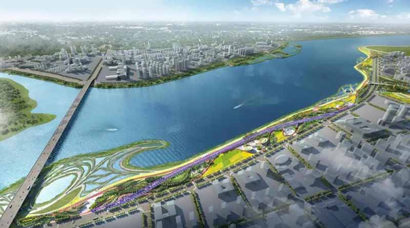 Jiangdong New Area plans to build Nandu River Park cover image