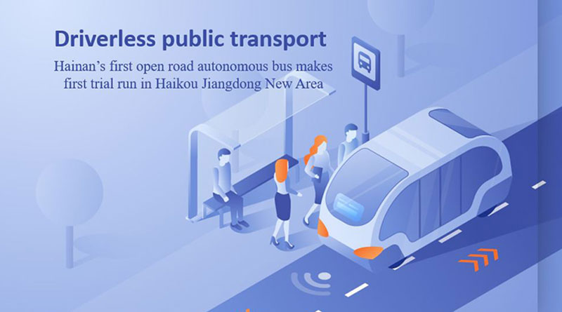 Haikou-Jiangdong-New-Area-Driverless-public-transport