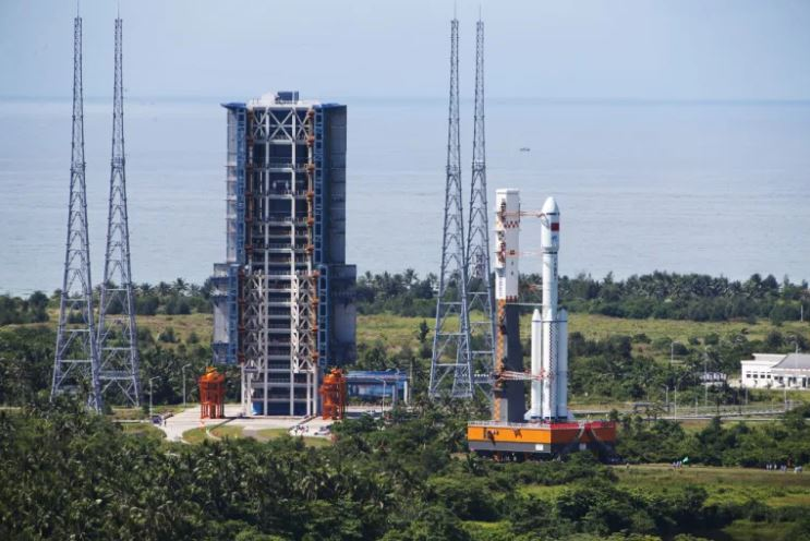 Launch-complex-201-at-the-wenchang-space-launch-center