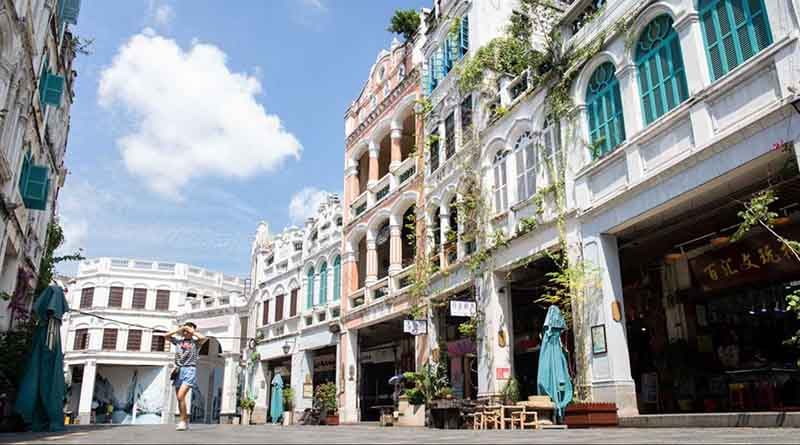 Old Town Haikou Hainan Island