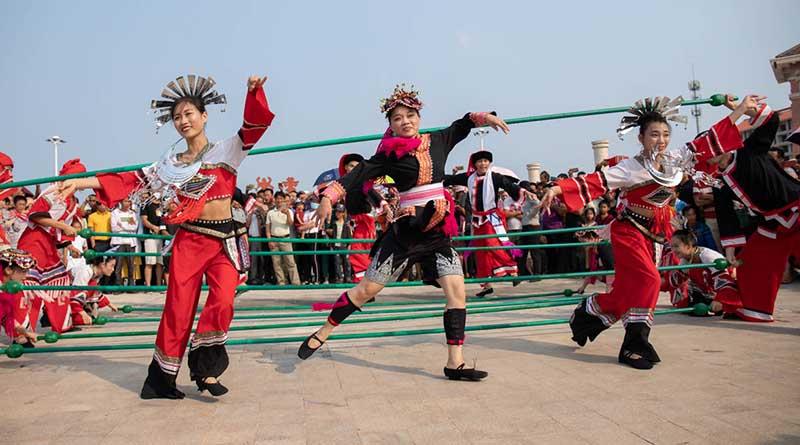 san yue san folk festival changjiang Hainan island -5