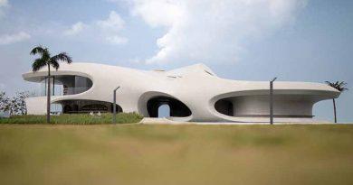 Wormhole library century park Haikou Hainan Island