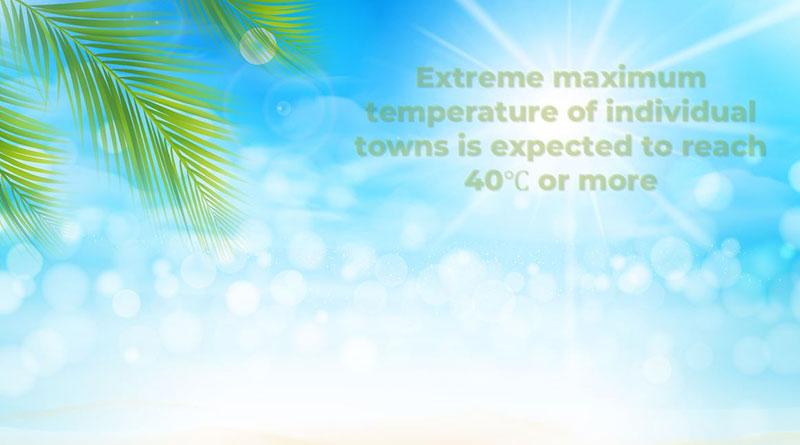 Max-temp Hainan sun