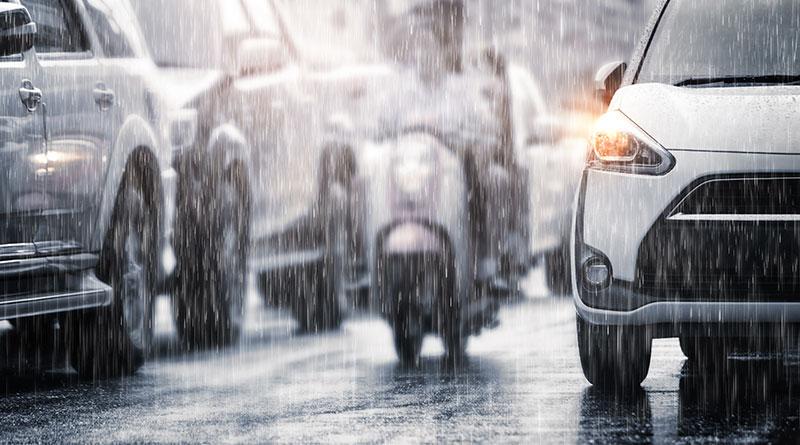 Storm-rain Hainan