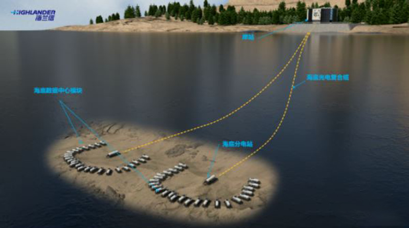 Highlander subsea data cooling project